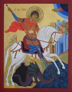 Ikona Święty Jerzy
