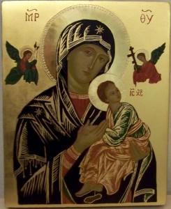 Matka Boska Nieustającej Pomocy ikona