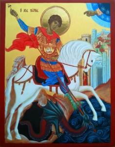Święty Jerzy ikona