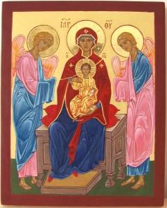 Ikona Matka Boska Cypryjska