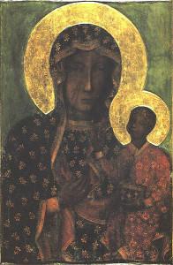 Częstochowska Matka Boska ikona