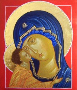 Matka Boska z Jezusem Czuła Ikona