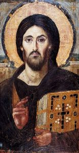 Ikona Chrystusa Pantokratora z Monastyru na Synaju